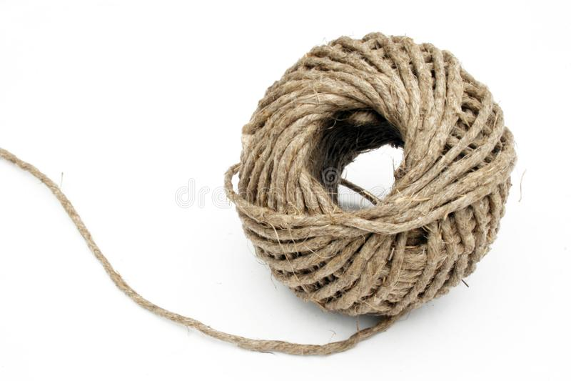 Ball of string linen twine royalty free stock photos