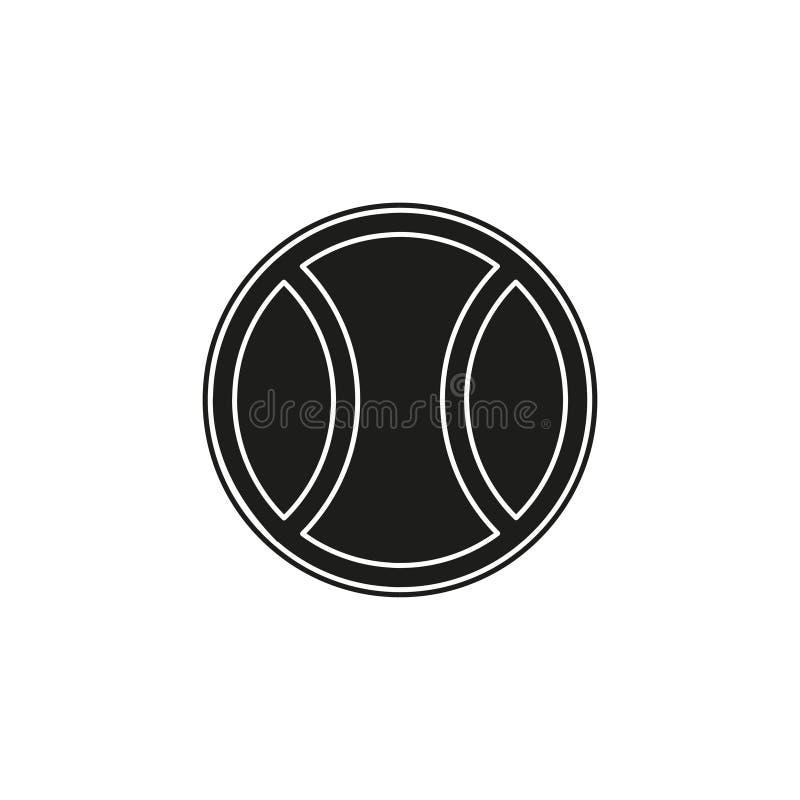 Ball tennis white sport design icon vector illustration - play game sport vector illustration