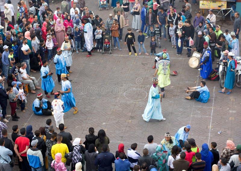 Balla tipico nella via araba immagini stock libere da diritti