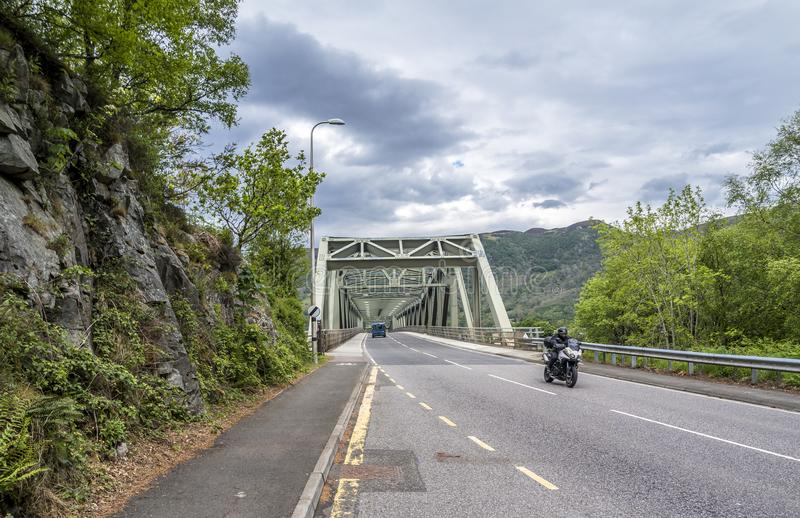 Ballachulish bridge in Lochaber, Scottish Highland. Ballachulish bridge in Lochaber, Scottish Highland - United Kingdom stock photos