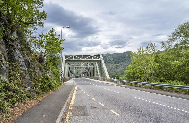 Ballachulish bridge in Lochaber, Scottish Highland. Ballachulish bridge in Lochaber, Scottish Highland - United Kingdom stock image