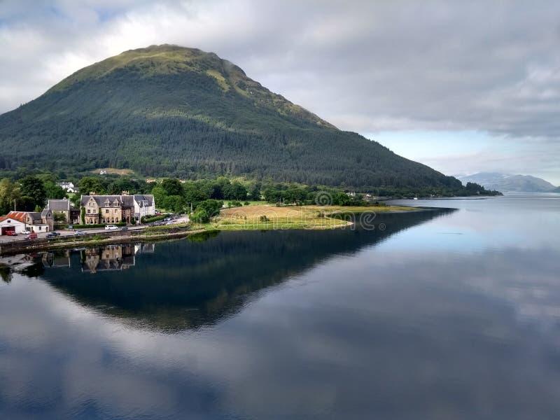 Ballachulish hotel royalty free stock photography