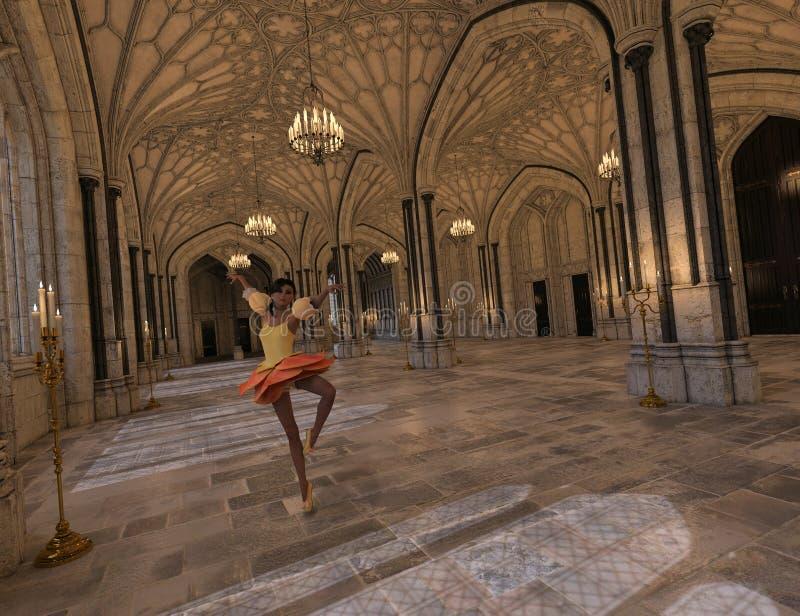 Ballando nella sala da ballo fotografie stock libere da diritti