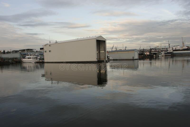 Download Ballard Lock On Union Lake Seattle Stock Photos - Image: 5636993