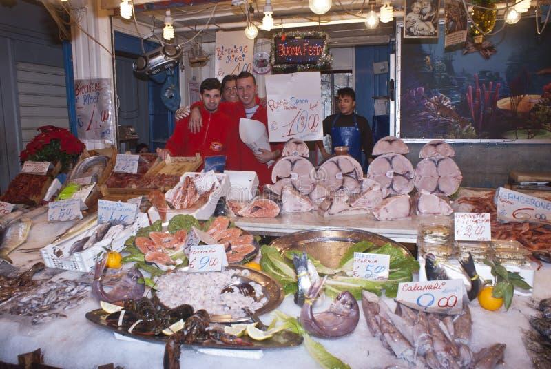 Download Ballaro, Palermo Sprzedawania Ryba Obraz Editorial - Obraz: 29210950