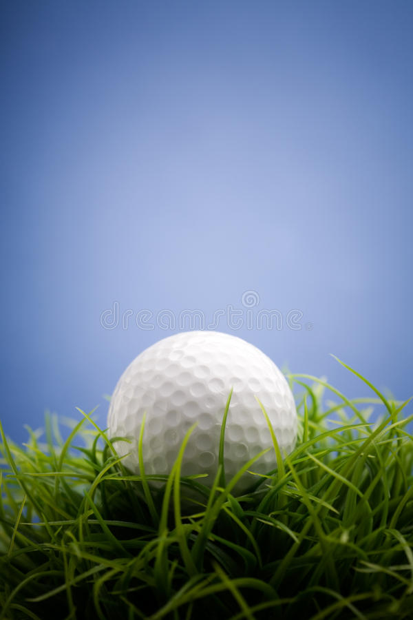 Balle de golf photo stock