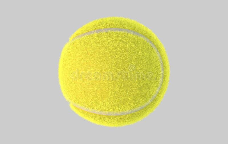 Balle de tennis illustration de vecteur