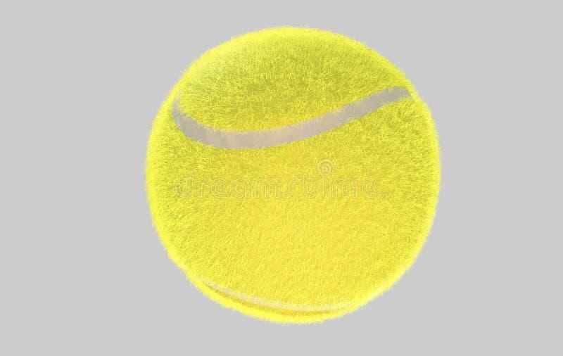 Balle de tennis illustration libre de droits