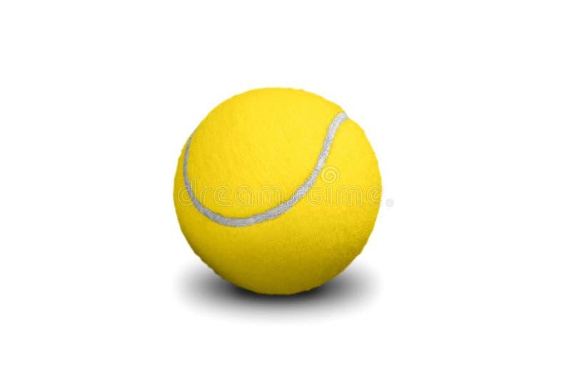 Balle de tennis jaune photos libres de droits