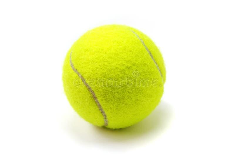 Bille De Tennis Sur Le Fond Blanc Balle De Tennis D'isolement ...