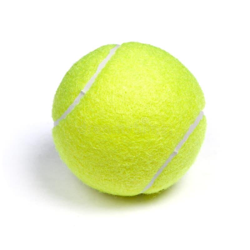 Balle de tennis simple photo libre de droits