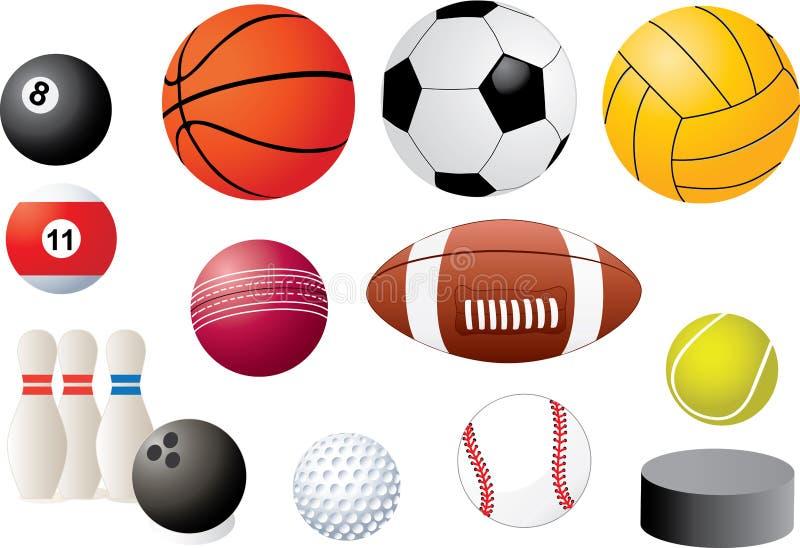 Ballen vector illustratie