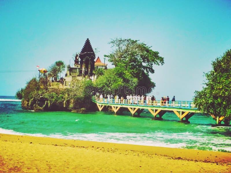 Ballen Kambang-Tempel lizenzfreies stockbild