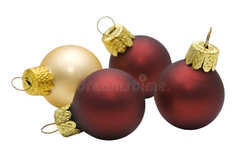 Ballen voor een Kerstmisboom stock foto's