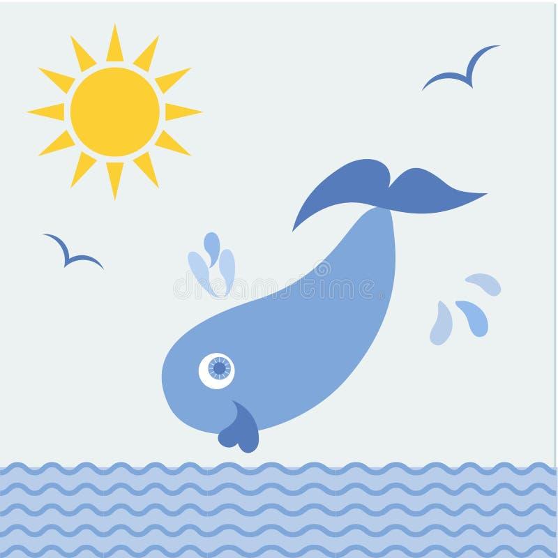 ballena azul fotos de archivo