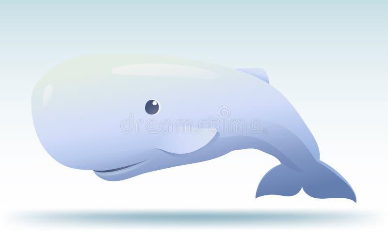 Ballena de esperma ilustración del vector