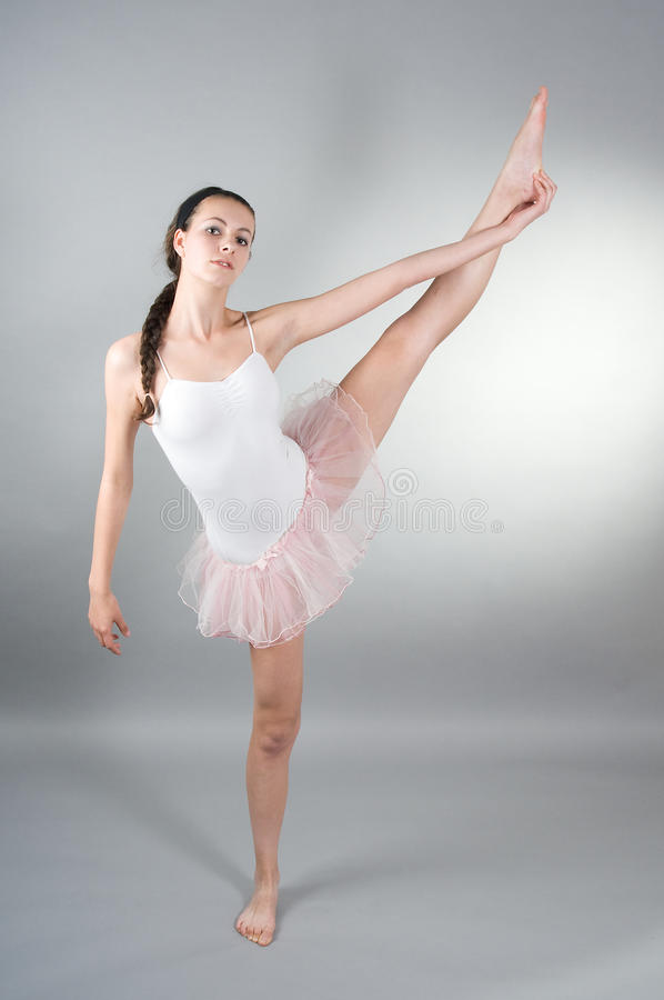 ballerin portreta potomstwa zdjęcie royalty free