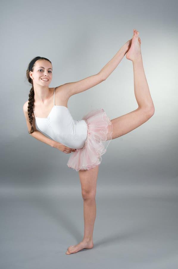ballerin portreta potomstwa fotografia stock