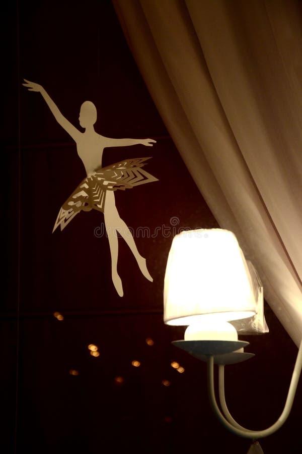 Ballerina εγγράφου στοκ φωτογραφία με δικαίωμα ελεύθερης χρήσης