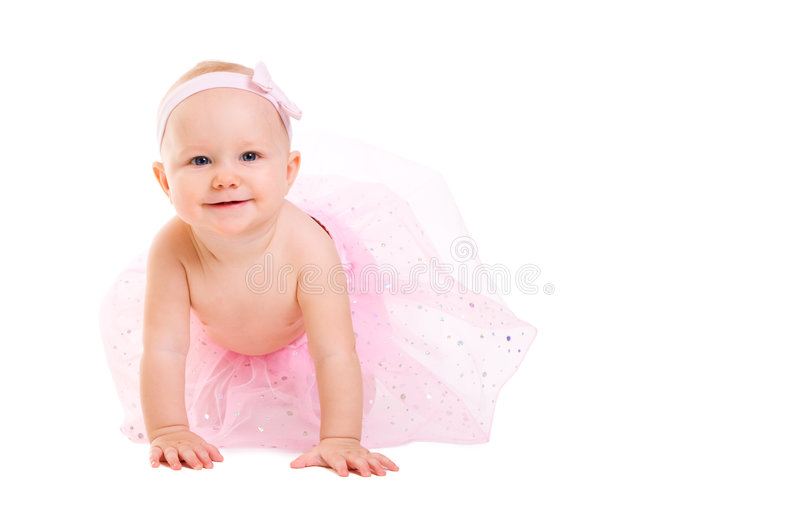 ballerina μωρών στοκ εικόνα με δικαίωμα ελεύθερης χρήσης