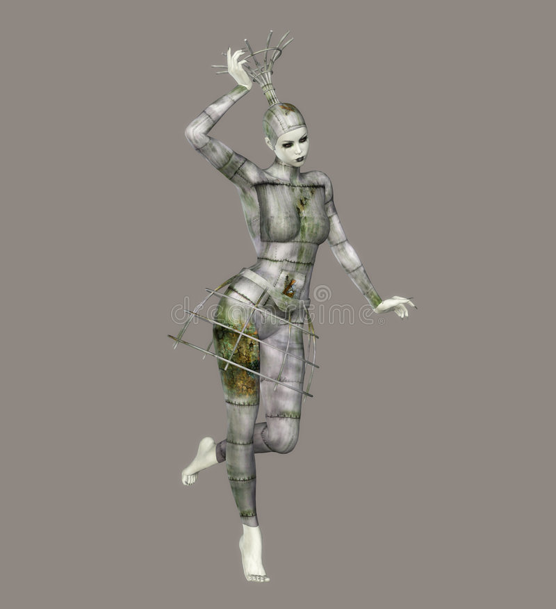 ballerina φανταστικό απεικόνιση αποθεμάτων