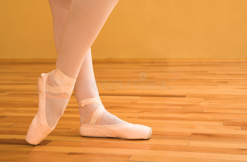 Ballerina #02 stock afbeelding