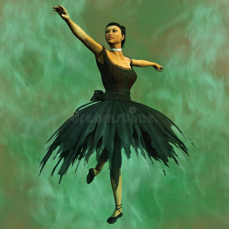Download Ballerina stock illustration. Image of background, performance - 14857781