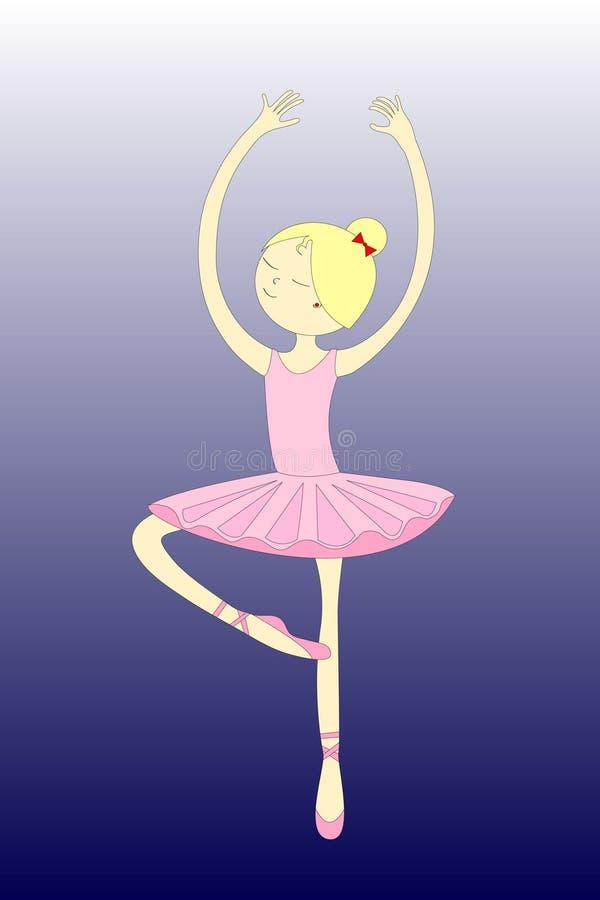 Ballerina lizenzfreie abbildung