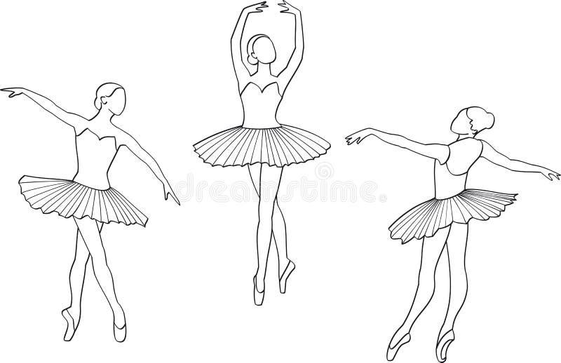 ballerina royaltyfri bild