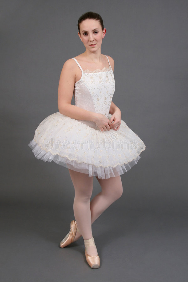 ballerina 4 royaltyfri foto