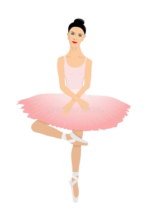 Ballerina vektor abbildung