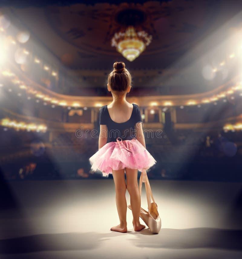 Ballerina royaltyfria bilder