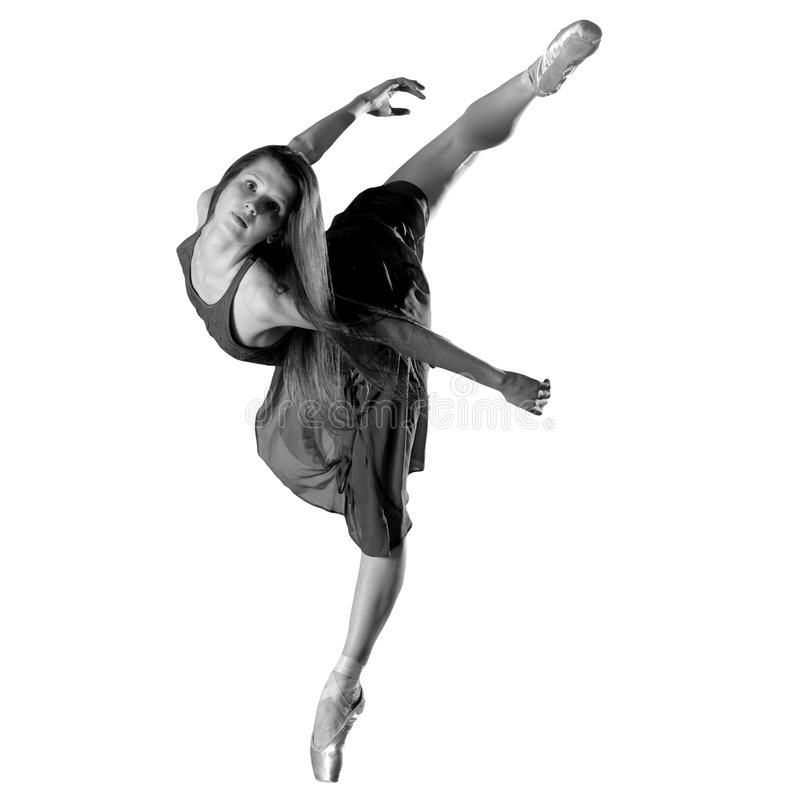 Ballerina royalty-vrije stock foto's