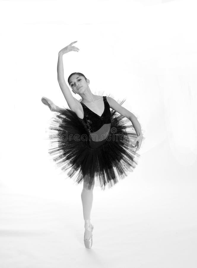 Ballerina royalty-vrije stock afbeelding