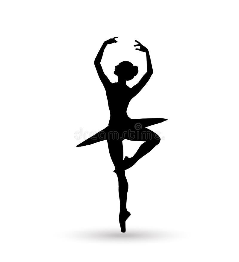 ballerina illustrazione vettoriale