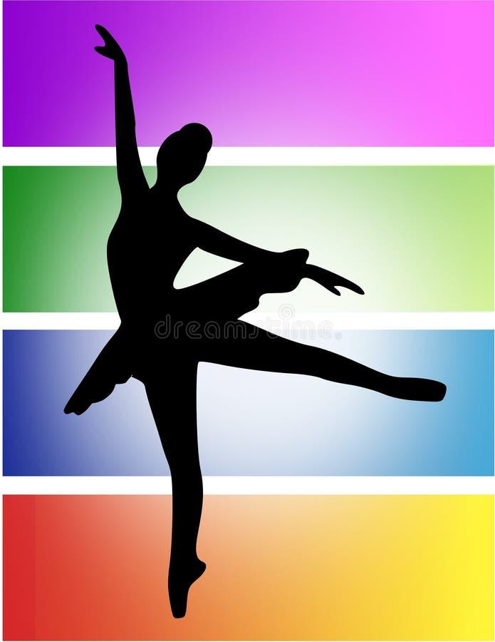 ballerina διανυσματική απεικόνιση