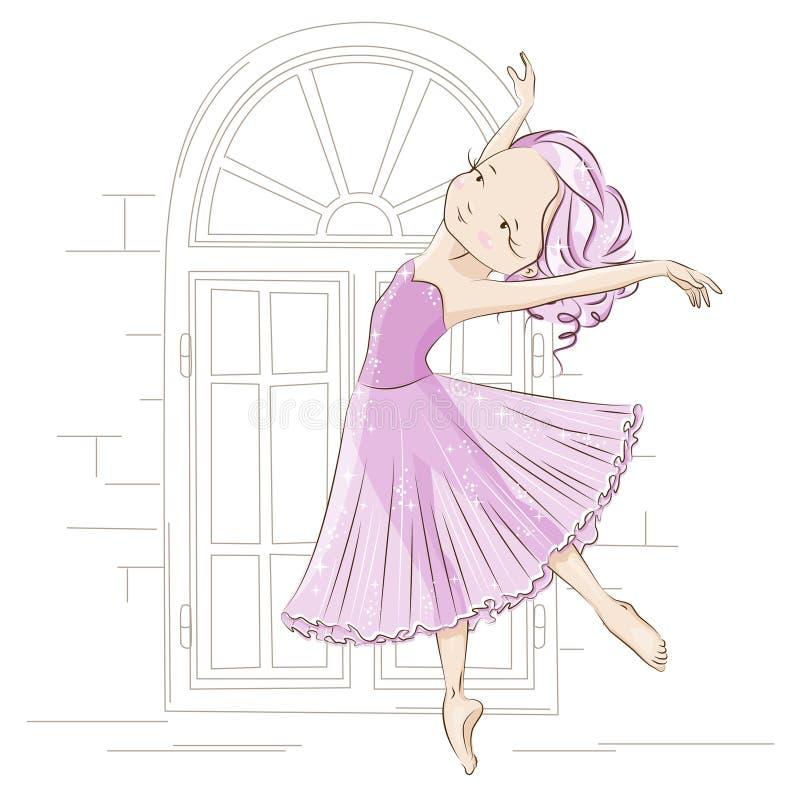 ballerina ilustração do vetor