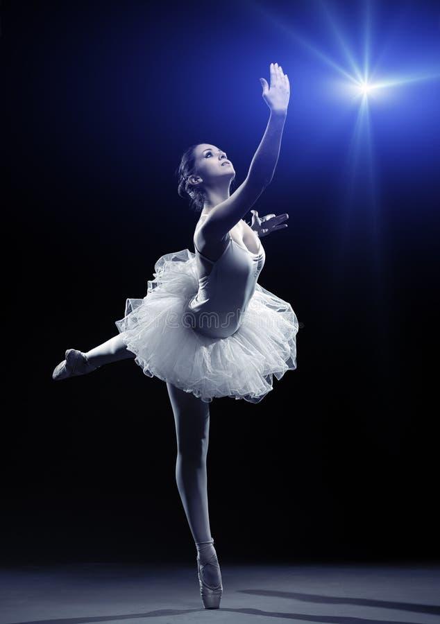 Ballerina-actie stock foto's