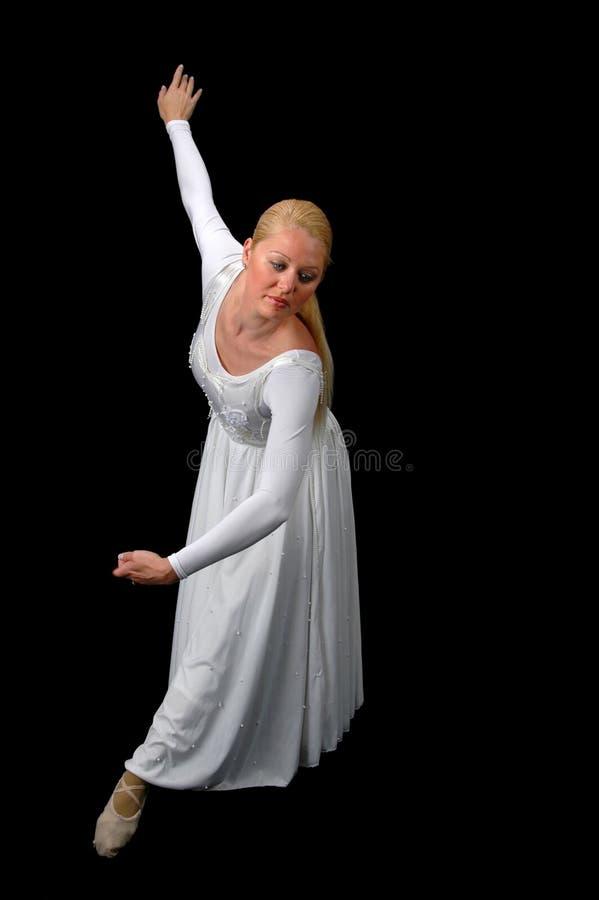 Ballerina-Ausführung lizenzfreie stockbilder