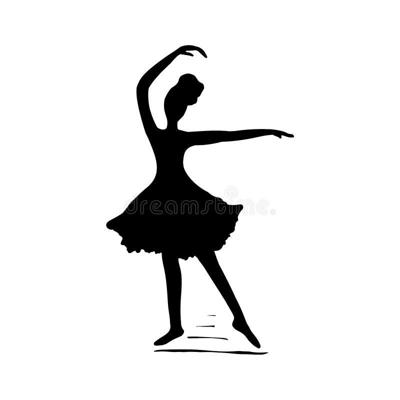Ballerina Dancer Black White Stock Illustrations 1 923 Ballerina Dancer Black White Stock Illustrations Vectors Clipart Dreamstime