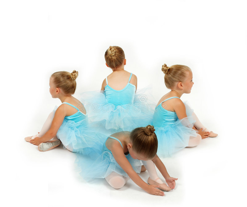 Ballerina-Blume lizenzfreie stockbilder