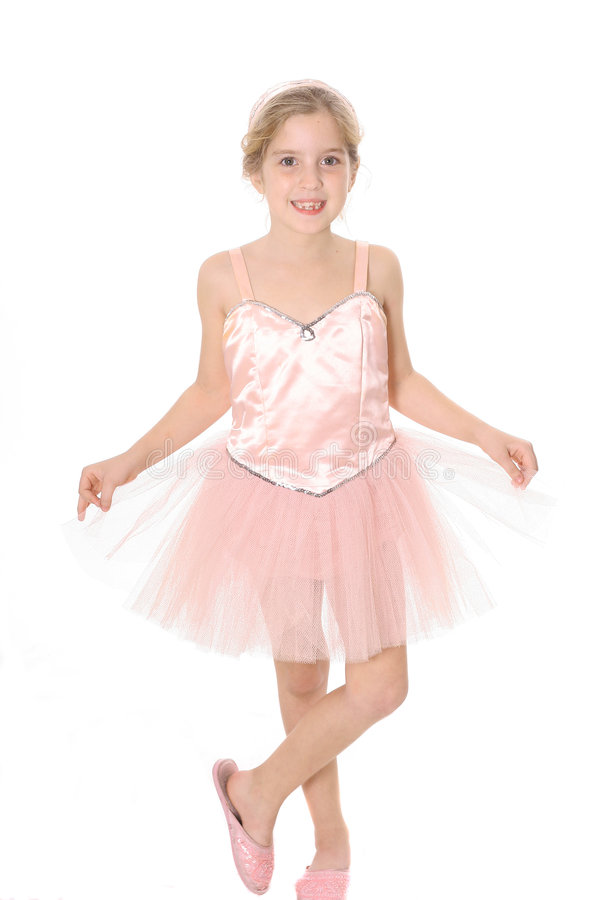 Ballerina child royalty free stock image