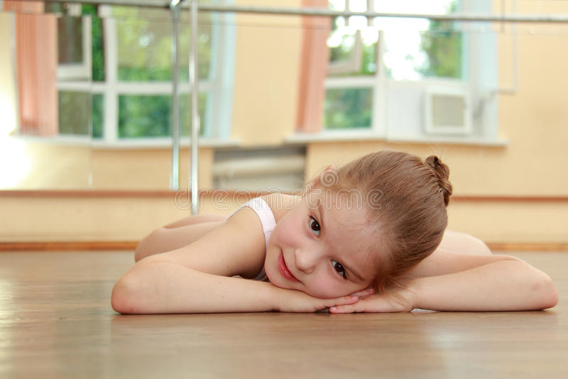 Ballerina europea fotografie stock