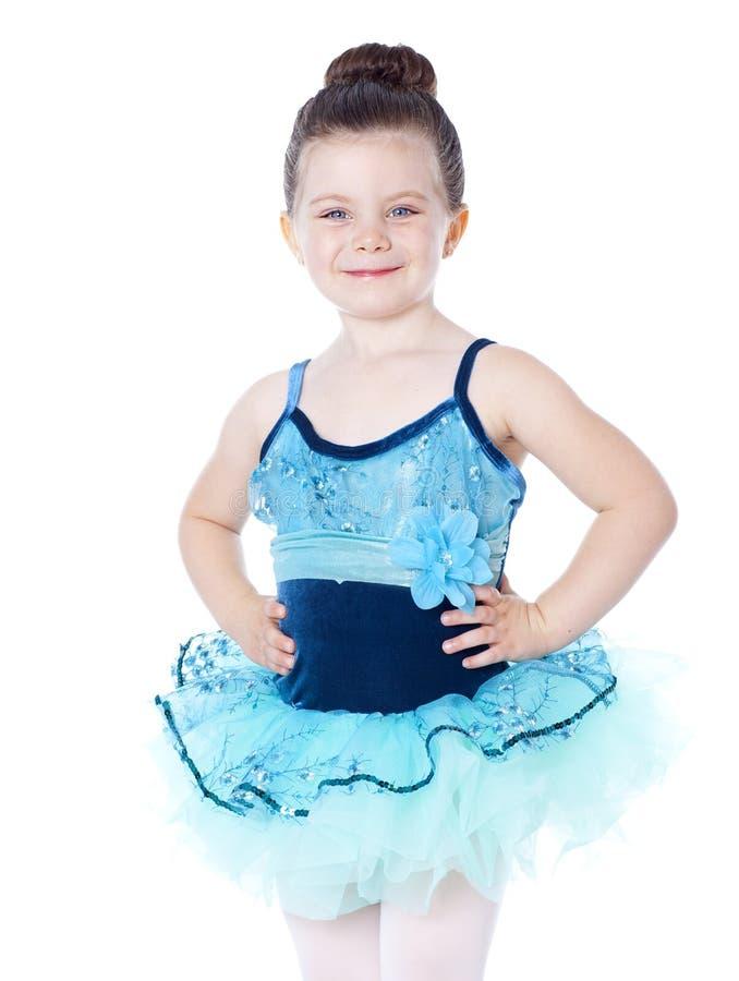 ballerina isolata su bianco fotografie stock
