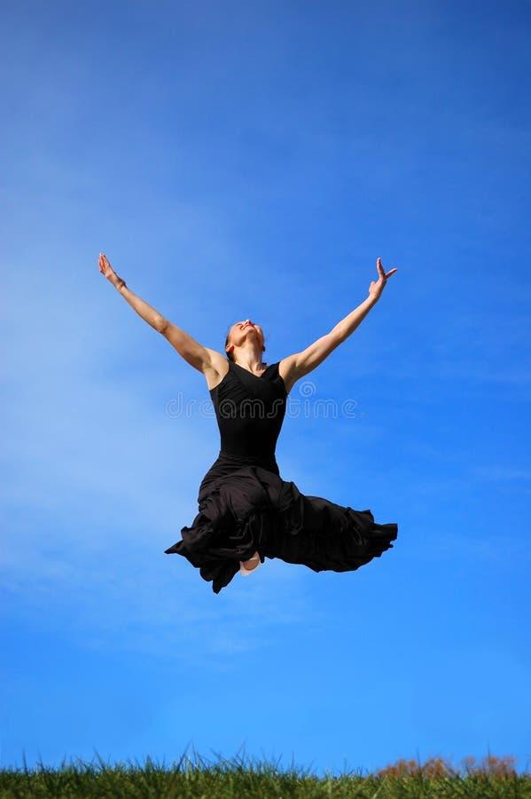 Download Ballerina jumping midair stock photo. Image of closeup - 3617804