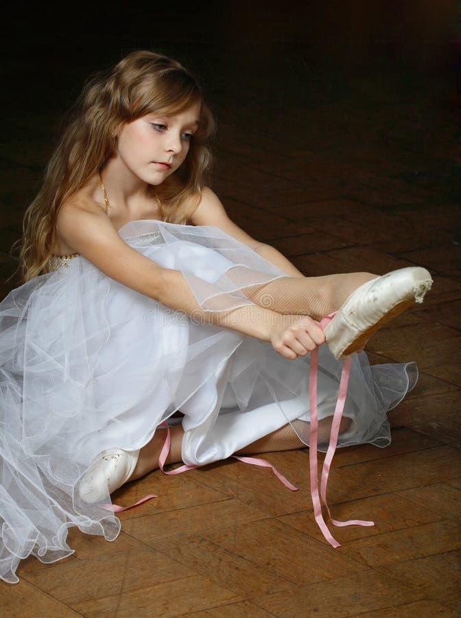 ballerina little royaltyfria foton