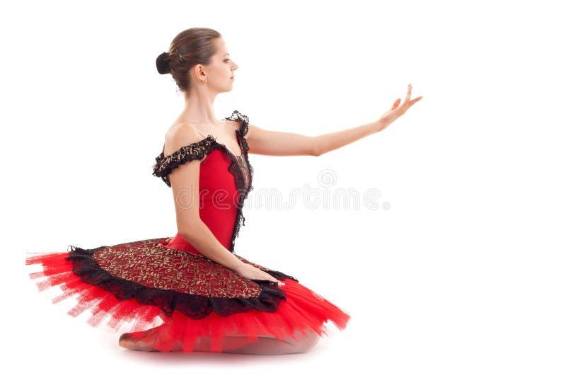 Ballerina messa fotografia stock libera da diritti