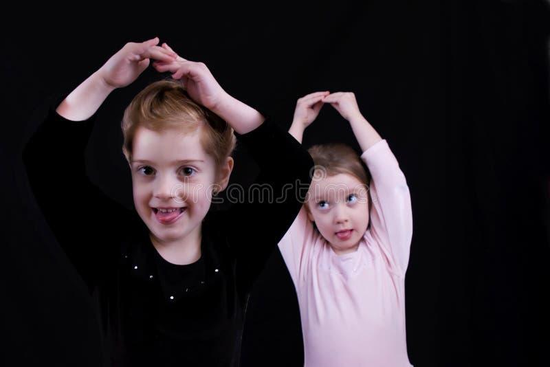Ballerina's royalty-vrije stock fotografie