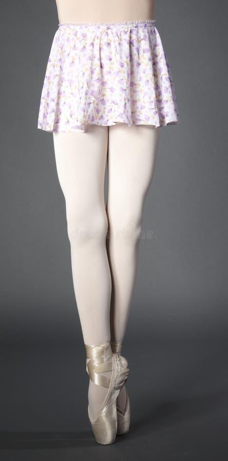 Ballerina's Legs stock photography