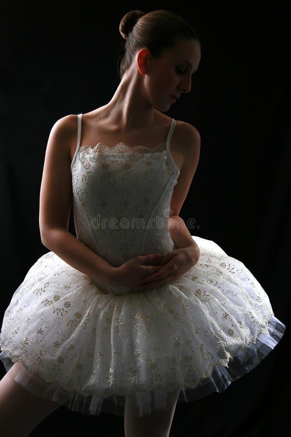 Ballerina in Schaduw #3 royalty-vrije stock afbeeldingen